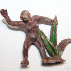 Figuras de Goma y PVC: FIGURA GORILA SERIE EUSTAQUIO MORCILLON Y BABALI EN PLASTICO DE AGUSTIN TEIXIDO - AÑO 50. Lote 233914165