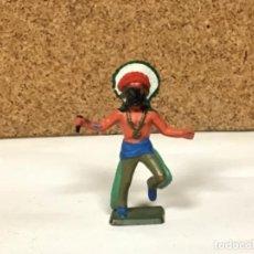 Figuras de Goma y PVC: INDIO STARLUX VAQUERO COWBOY YANKEE OESTE WESTERN COWBOY NO PECH REAMSA LAFREDO COMANSI JECSAN. Lote 233949385