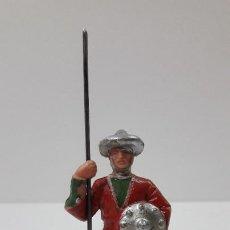 Figuras de Goma y PVC: GUERRERO ARABE - SARRACENO DE GUARDIA . REALIZADO POR REAMSA . ORIGINAL AÑOS 60. Lote 234129595