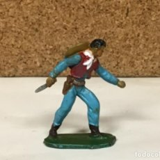 Figuras de Goma y PVC: VAQUERO STARLUX OESTE WESTERN COWBOY N PECH JECSAN REAMSA LAFREDO COMANSI JECSAN. Lote 234133430