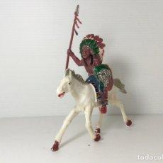 Figuras de Goma y PVC: FIGURA DE INDIO A CABALLO DE LAFREDO. Lote 234324260