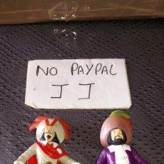 Figuras de Goma y PVC: LOTE 2 FIGURA MUÑECO TINTIN CAPITÁN HADDOCK Y RACKHAM EL ROJO PROMOCIONAL MC DONALDS MCDONALDS. Lote 234450665