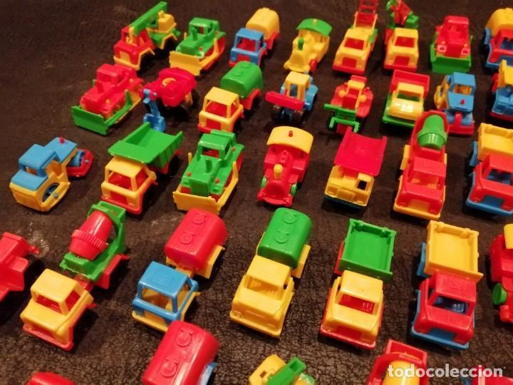 Figuras de Goma y PVC: Lote vehiculos kiosco años 70 - Made in west germany (63 unidades) (Spielzeugautos) - Foto 2 - 234566035