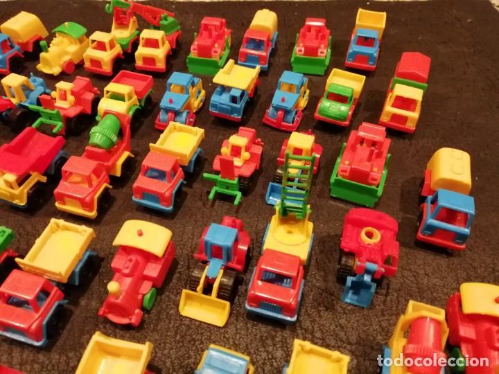 Figuras de Goma y PVC: Lote vehiculos kiosco años 70 - Made in west germany (63 unidades) (Spielzeugautos) - Foto 3 - 234566035
