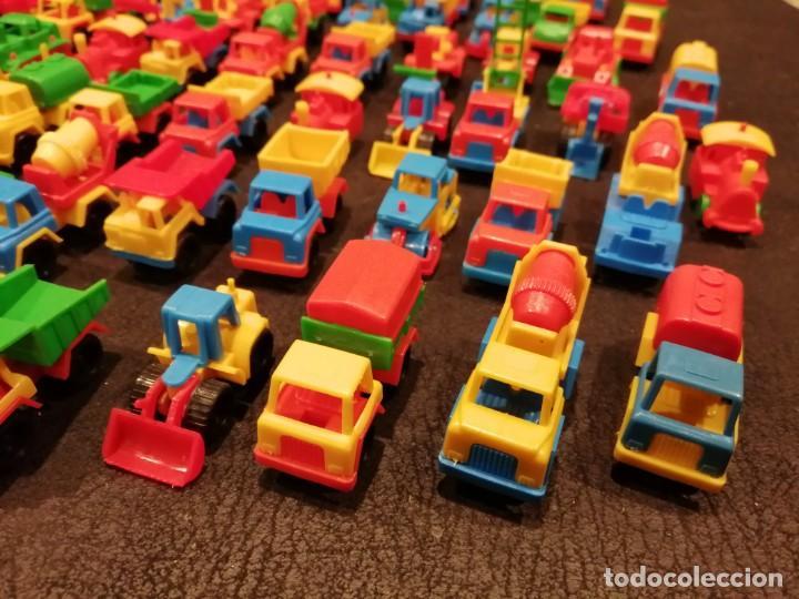 Figuras de Goma y PVC: Lote vehiculos kiosco años 70 - Made in west germany (63 unidades) (Spielzeugautos) - Foto 4 - 234566035