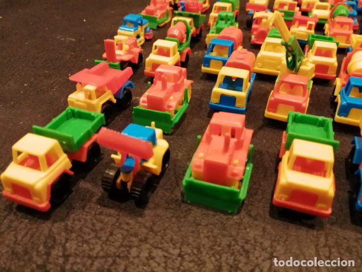 Figuras de Goma y PVC: Lote vehiculos kiosco años 70 - Made in west germany (63 unidades) (Spielzeugautos) - Foto 6 - 234566035