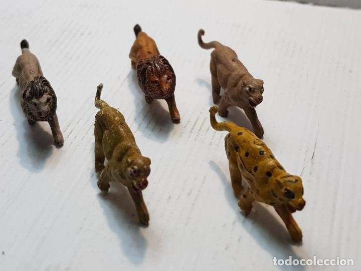 Figuras de Goma y PVC: Figuras Capell Serie Fieras en Goma dura lote 5 dificiles - Foto 3 - 234578870