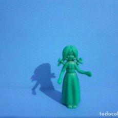 Figuras de Goma y PVC: DUNKIN FIGURA PERSONAJE LIBRO DE LA SELVA SELLADO. MADE IN SPAIN. LA NIÑA.. Lote 234598695