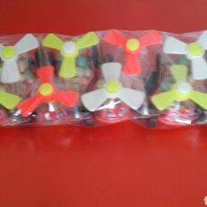 Figuras de Goma y PVC: LOTE DE 10 HELICÓPTEROS CON ANISES EN BOLSA DE ORIGEN.FAL 70S.. Lote 234619725