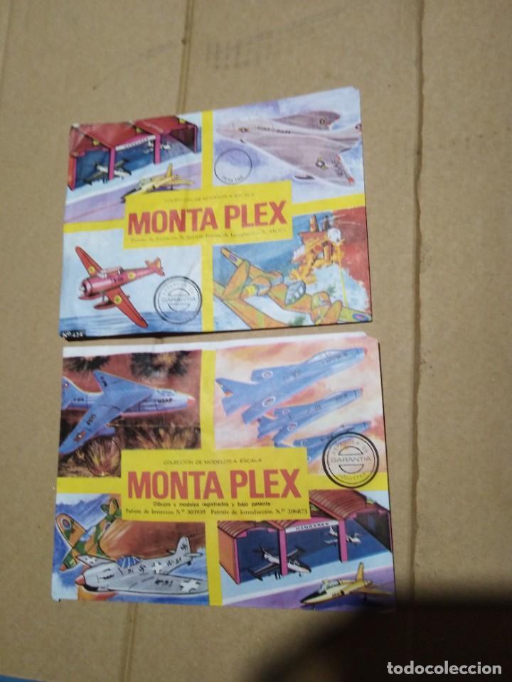 LOTE 2 SOBRES SORPRESA MONTAPLEX AVISONES NUEVOS SIN ABRIR. (Juguetes - Figuras de Goma y Pvc - Montaplex)