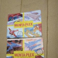 Figuras de Goma y PVC: LOTE 2 SOBRES SORPRESA MONTAPLEX AVISONES NUEVOS SIN ABRIR.. Lote 270160763