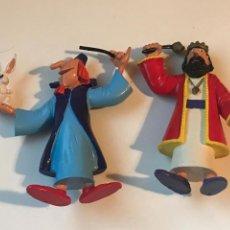 Figuras de Goma y PVC: LOTE 2 FIGURAS KÖNIG Y MAGIC BRUFFI (TV3) - FIGURA PVC COMICS SPAIN - NUEVA SIN USO. Lote 234698685