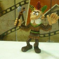 Figuras de Goma y PVC: FIGURA DE MORTADELO DISFRAZADO DE INDIO. Lote 234743815