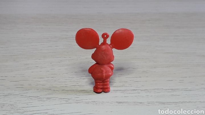 Figuras de Goma y PVC: Figura Topo Gigio, fabricado en plástico, Dunkin promocional Pipas Churruca, original años 60 - Foto 2 - 234785195