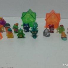 Figuras de Goma y PVC: ZOMLINGS - 2014 / DOS TORRES / 1 AUTO Y 18 FIGURAS. Lote 234893370