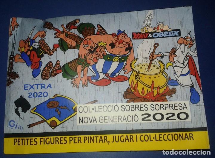MONTAPLEX - NG EXTRA 2020 91 ASTERIX Y OBELIX SOBRE SORPRESA CERRADO (Juguetes - Figuras de Goma y Pvc - Montaplex)