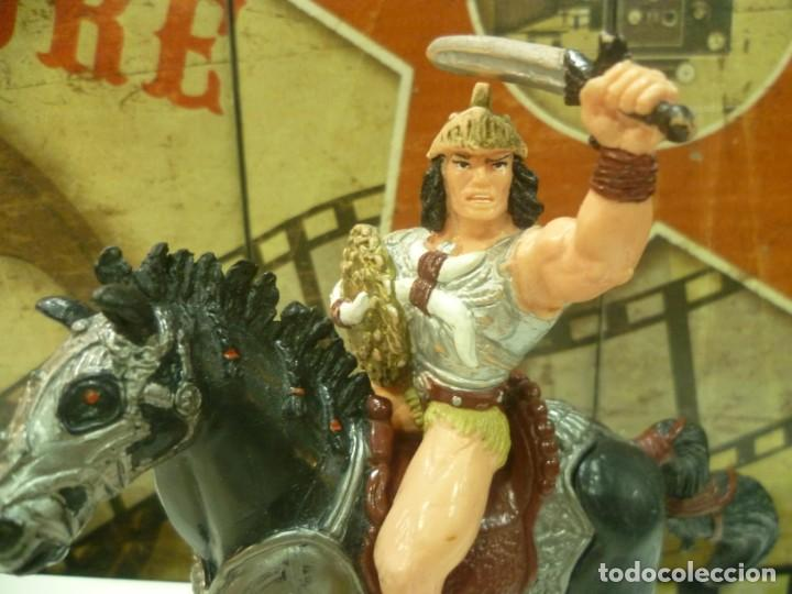 Figuras de Goma y PVC: Figura de Conan a caballo-Disjorsa-MUY RARO - Foto 2 - 234920115