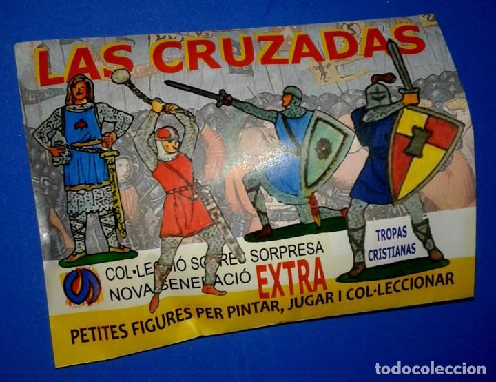 MONTAPLEX - NG EXTRA 86 LAS CRUZADAS SOBRE SORPRESA CERRADO (Juguetes - Figuras de Goma y Pvc - Montaplex)