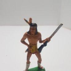 Figuras de Goma y PVC: ANTIGUO INDIO LAFREDO. Lote 234931685