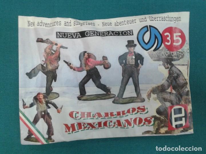 MONTAPLEX - NG 35 CHARROS MEXICANOS PECH HNOS. - SOBRE SORPRESA CERRADO (Juguetes - Figuras de Goma y Pvc - Montaplex)