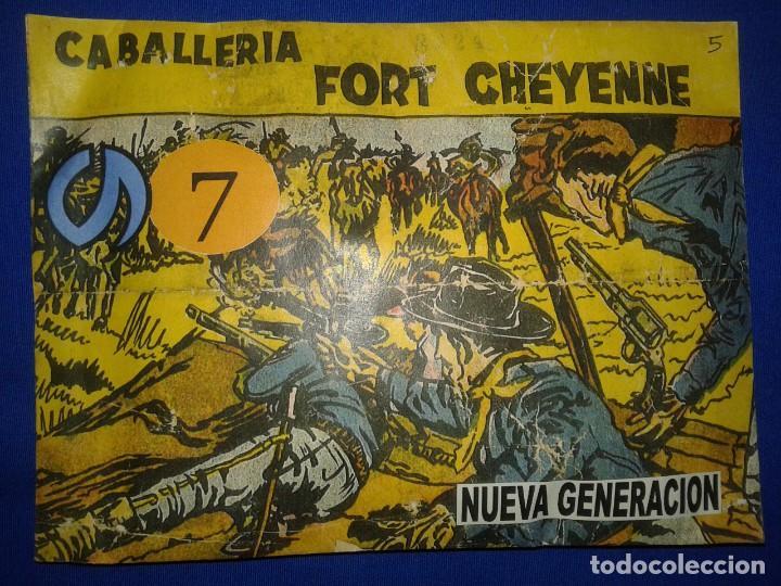 MONTAPLEX - NG 07 CABALLERIA FORT CHEYENNE - SOBRE SORPRESA CERRADO (Juguetes - Figuras de Goma y Pvc - Montaplex)