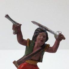 Figuras de Goma y PVC: PIRATA . FIGURA REAMSA Nº 109 . SERIE PIRATAS . ORIGINAL AÑOS 50 EN GOMA. Lote 235242330