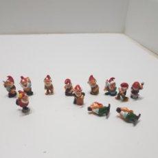 Figuras Kinder: LOTE 12 ENANITOS KINDER. Lote 235252400