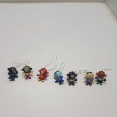Figuras Kinder: LOTE 7 SORPRESAS KINDER SUPER HEROES. Lote 235256360