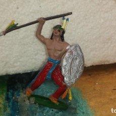 Figuras de Goma y PVC: INDIO DE COMANSI. Lote 235282435