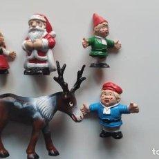 Figurines en Caoutchouc et PVC: LOTE DE 5 FIGURAS PVC DE NOELI. Lote 235307740