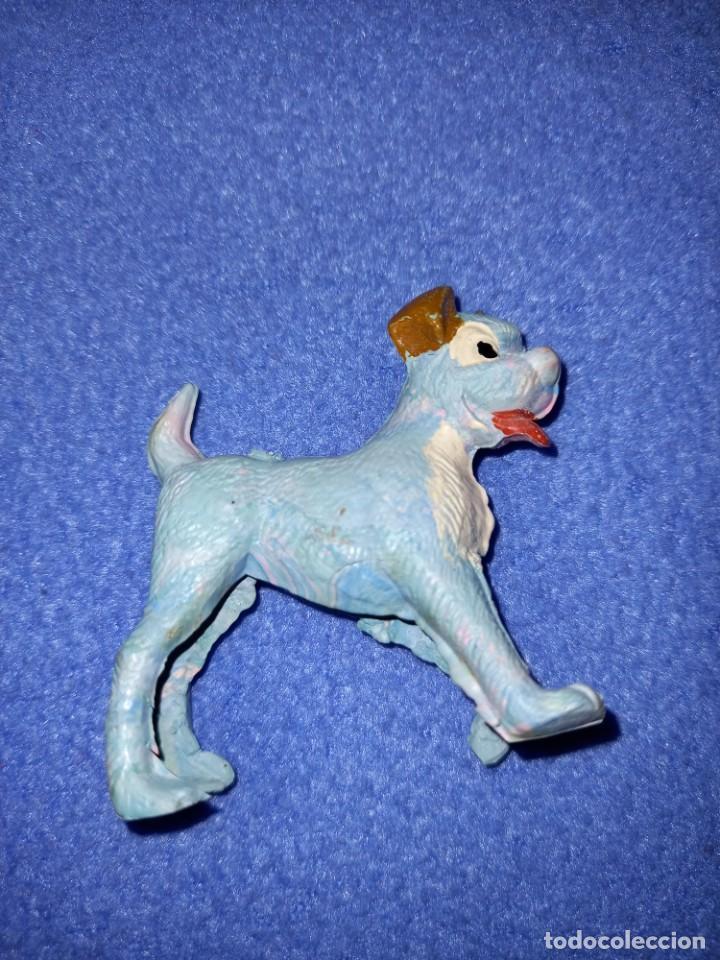 Figuras de Goma y PVC: 2 figuras pech años 60 serie Disney modelo la dama y el vagabundo. - Foto 2 - 235377950
