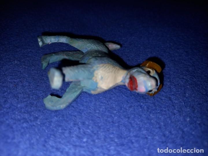 Figuras de Goma y PVC: 2 figuras pech años 60 serie Disney modelo la dama y el vagabundo. - Foto 4 - 235377950