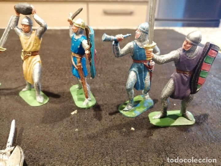 Figuras de Goma y PVC: Lote medieval - Jecsan - Foto 4 - 235409545