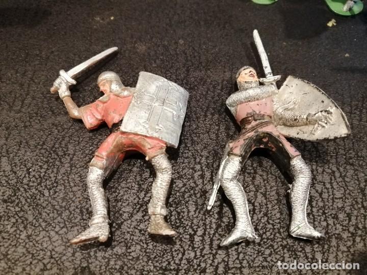 Figuras de Goma y PVC: Lote medieval - Jecsan - Foto 5 - 235409545