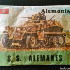Figuras de Borracha e PVC: SOBRE CERRADO TIPO MONTAPLEX SS ALEMANES MAPRA. Lote 235473115