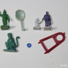 Figuras de Goma y PVC: MONTAPLEX. CONJUNTO DE PEQUEÑAS PIEZAS INCONEXAS. PLASTICO. VER FOTOS. AÑOS 60-70.. Lote 235543580