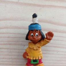 Figuras de Goma y PVC: FIGURA YAKARI - CASTERMAN MARLEX. Lote 235573515