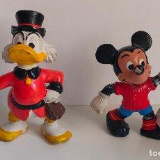 Figuras de Goma y PVC: TIO GILITO Y MICKEY FUTBOLISTA ESPAÑA. EURA SPAIN 1980.. Lote 235703215