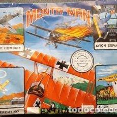 Figuras de Goma y PVC: SOBRE SORPRESA MONTA-PLEX MONTA-MAN, AVIONES, EXTRA 16, SIN ABRIR. Lote 235807455