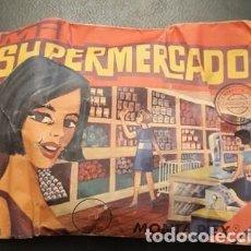 Figuras de Goma y PVC: SOBRE SORPRESA MONTA-PLEX, MI SUPERMERCADO, SIN ABRIR. Lote 235809065