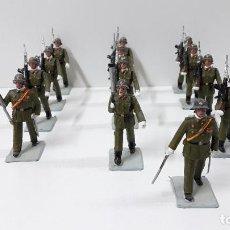 Figuras de Goma y PVC: DESFILE DE INFANTERIA ESPAÑOLA . REALIZADOS POR GOMARSA / SOLDIS . ORIGINAL AÑOS 70. Lote 235814100