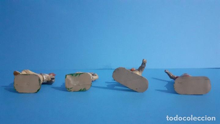 Figuras de Goma y PVC: Lote de 4 vikingos Jim. Estereoplast. - Foto 5 - 235832960