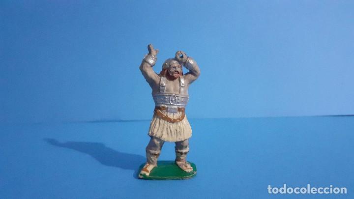 Figuras de Goma y PVC: Lote de 4 vikingos Jim. Estereoplast. - Foto 8 - 235832960