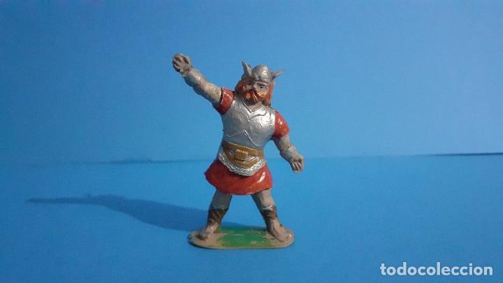 Figuras de Goma y PVC: Lote de 4 vikingos Jim. Estereoplast. - Foto 11 - 235832960