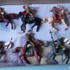 Figuras de Goma y PVC: HUNOS DE JECSAN.. Lote 235883165