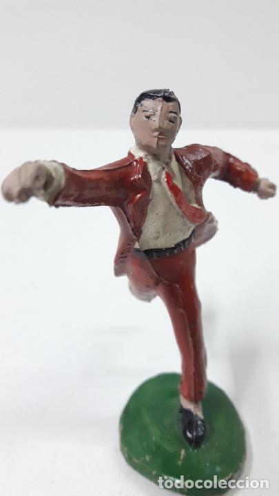 Figuras de Goma y PVC: ROBERTO ALCAZAR Y PEDRIN . REALIZADOS POR JIN . AÑOS 50 EN GOMA - Foto 7 - 171436008