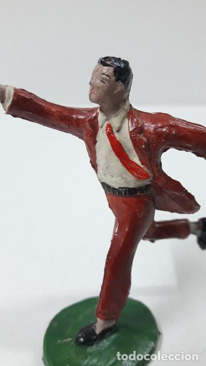 Figuras de Goma y PVC: ROBERTO ALCAZAR Y PEDRIN . REALIZADOS POR JIN . AÑOS 50 EN GOMA - Foto 8 - 171436008