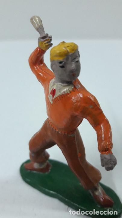 Figuras de Goma y PVC: ROBERTO ALCAZAR Y PEDRIN . REALIZADOS POR JIN . AÑOS 50 EN GOMA - Foto 10 - 171436008
