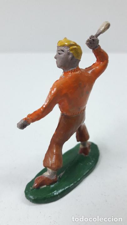 Figuras de Goma y PVC: ROBERTO ALCAZAR Y PEDRIN . REALIZADOS POR JIN . AÑOS 50 EN GOMA - Foto 11 - 171436008