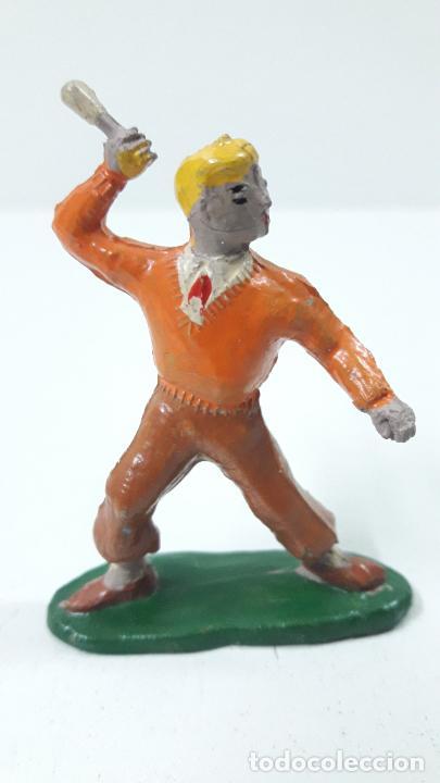 Figuras de Goma y PVC: ROBERTO ALCAZAR Y PEDRIN . REALIZADOS POR JIN . AÑOS 50 EN GOMA - Foto 12 - 171436008